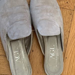 AGL suede mules-Size 38